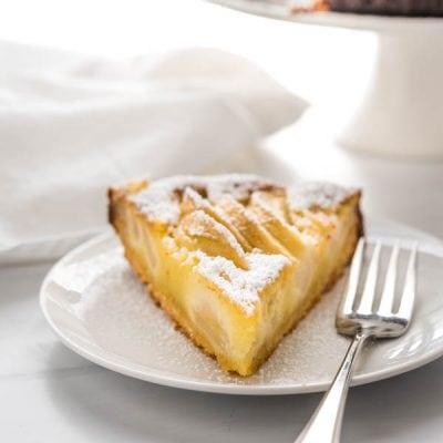 Easy Make Ahead Apple Frangipane Tart