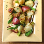 Turnips Potatoes and Greens | Garlic + Zest