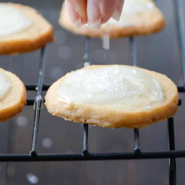 Key Lime Sparkle Cookies   Garlic + Zest