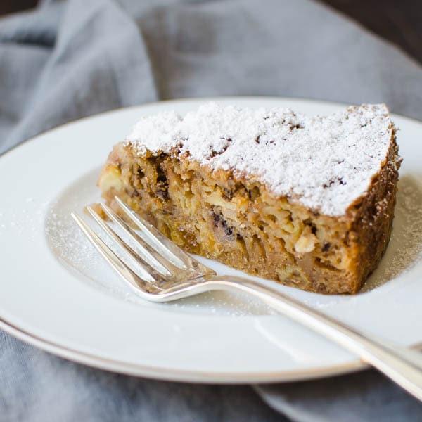 Harvest Cake | Garlic & Zest