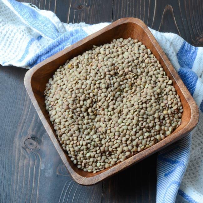 hearty lentil and butternut soup | Garlic + Zest