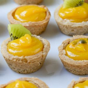 Tropical Passion Fruit Tartlets | Garlic + Zest