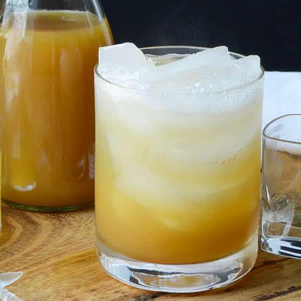 bourbon cider punch   Garlic + Zest