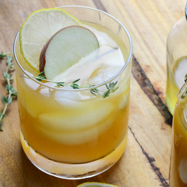bourbon cider punch