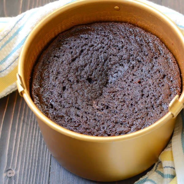 chocolate mint crock pot cake   Garlic + Zest