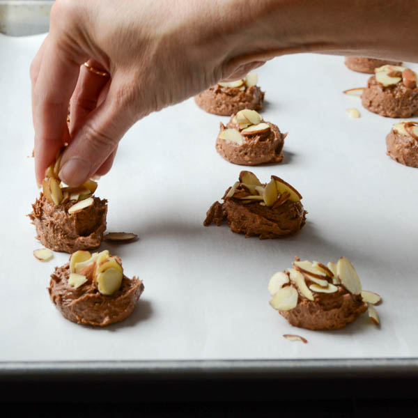 Mocha Almond Brickle Cookies   Garlic + Zest
