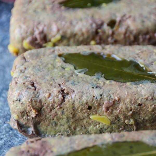 closeup of Madou's Pâté De Campagne