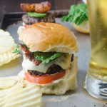 Chili Aioli Buffalo Sliders | Garlic + Zest