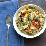 Nicoise Farro Salad | Garlic + Zest
