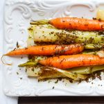 Braised Leeks and Carrots with Toasted Crumb