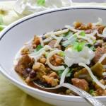 green chili   Garlic + Zest