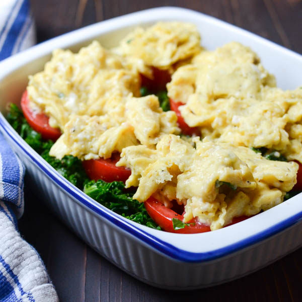 Cheesy Tomato Egg Gratin | Garlic + Zest