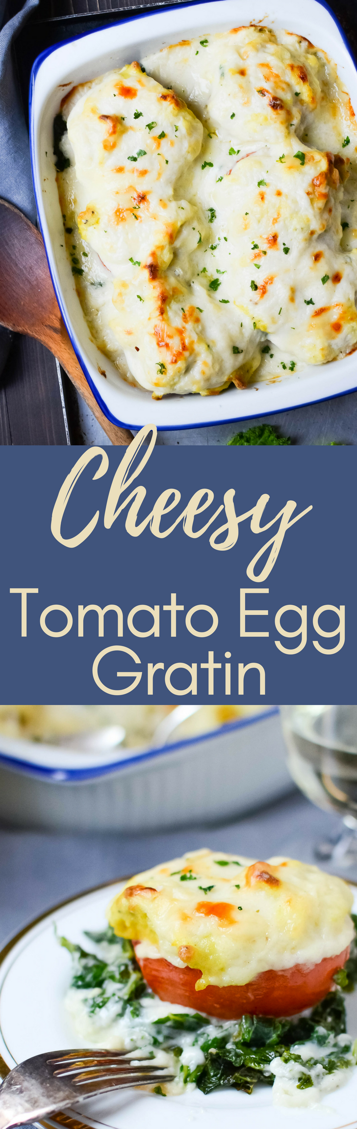 Need a homestyle casserole recipe?  Cheesy Tomato Egg Gratin Is a great first course or vegetarian main with soft scrambled eggs and a rich béchamel sauce.