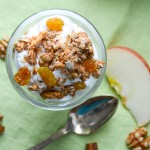 Apple Walnut Spice Granola | Garlic + Zest