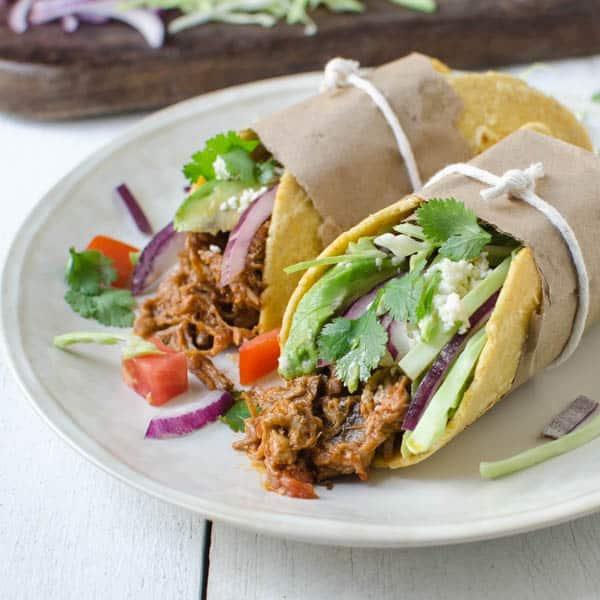 Leftover Braised Pork Tacos | Garlic & Zest