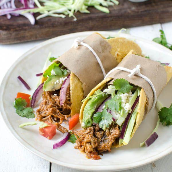leftover braised pork tacos | Garlic + Zest