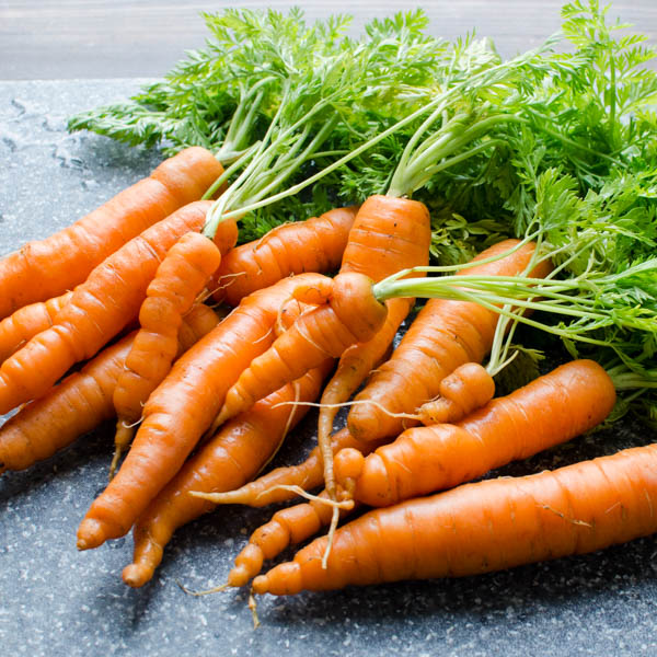 carrots from the farmers market