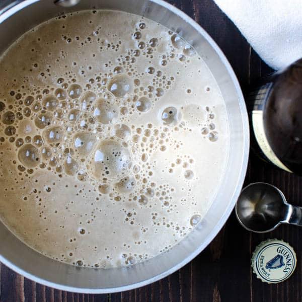 Luscious Stout Caramel Sauce | Garlic + Zest