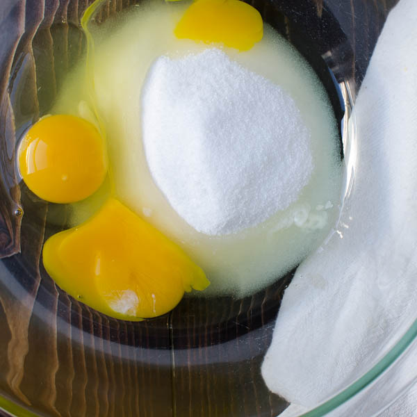 eggs and sugar