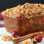 Cranberry Nut Pumpkin Loaves | Garlic + Zest