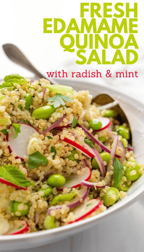 Edamame Quinoa Salad Pin