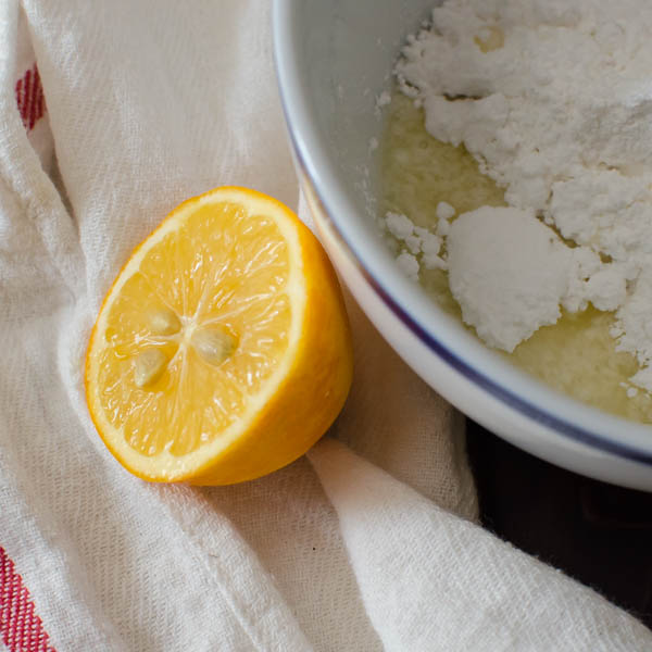 Glazed Lemon Poppyseed Mini Muffins | Garlic + Zest