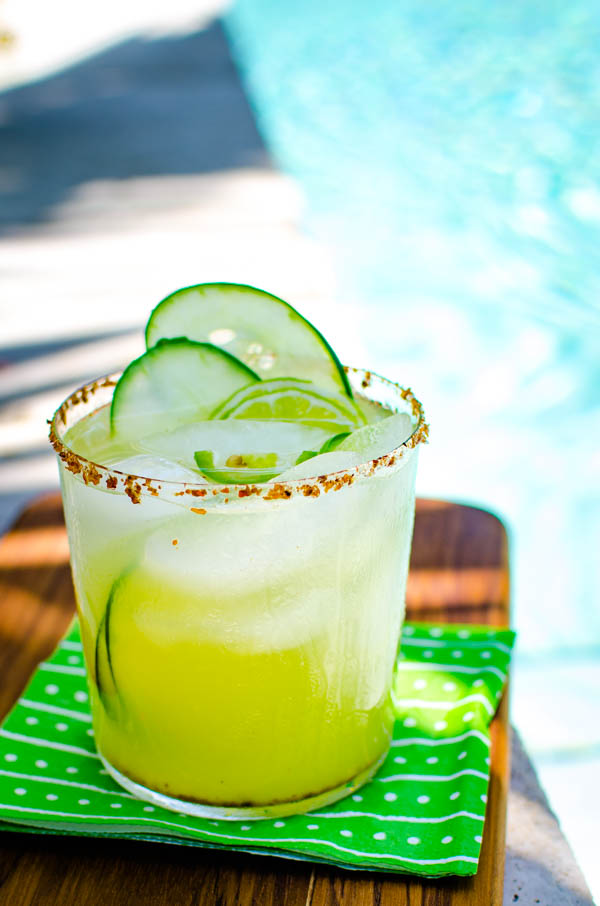 Margarita by the pool.