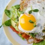 Farmer's Market Open-Faced Sandwich | Garlic + Zest