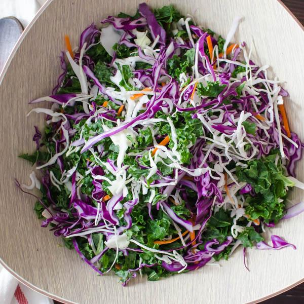 Sweet Heat Asian Barbecued Shrimp Salad   Garlic + Zest