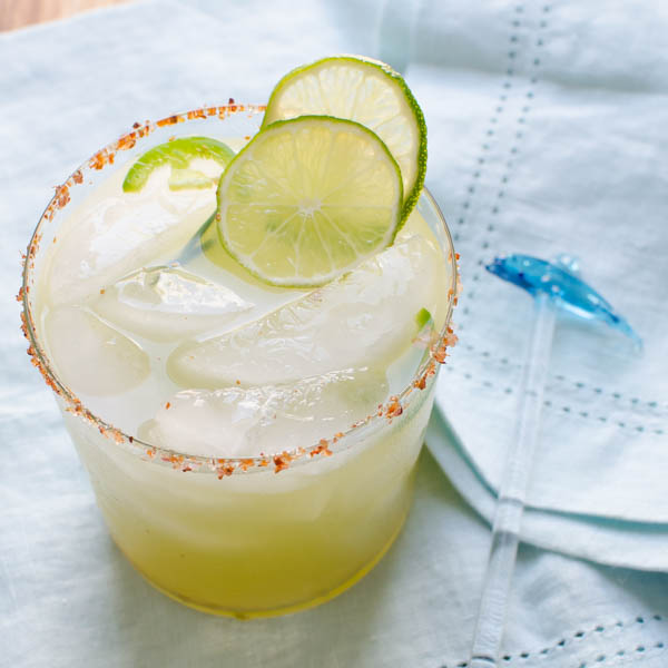 Spicy Cucumber Kiwi Margarita