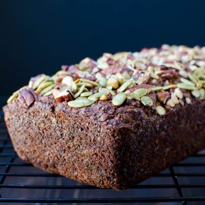 Gluten-Free Banana Coconut Bread | Garlic + Zest