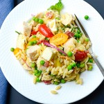 Lemony Chicken and Orzo Salad   Garlic + Zest
