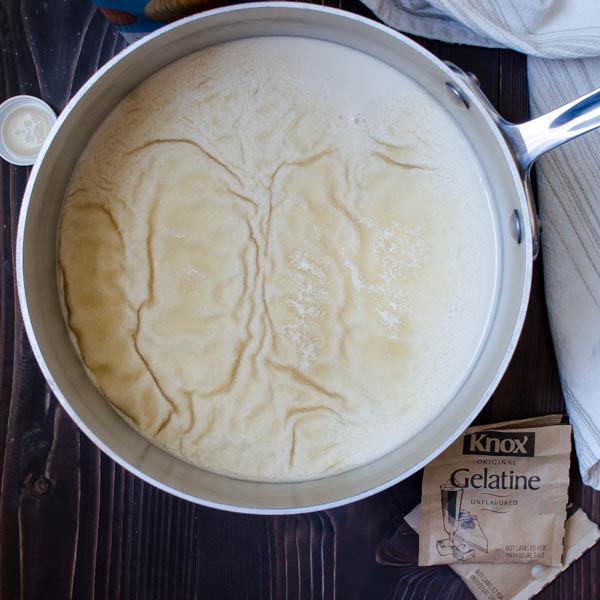 Toasted Almond Dream Panna Cotta | Garlic + Zest