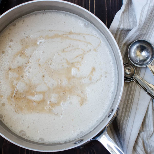 Toasted Almond Dream Panna Cotta   Garlic + Zest