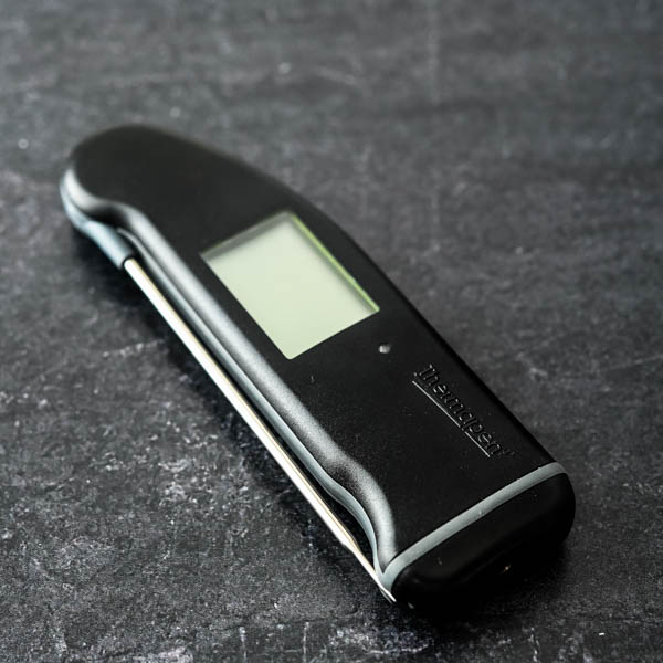 instant read thermometer.