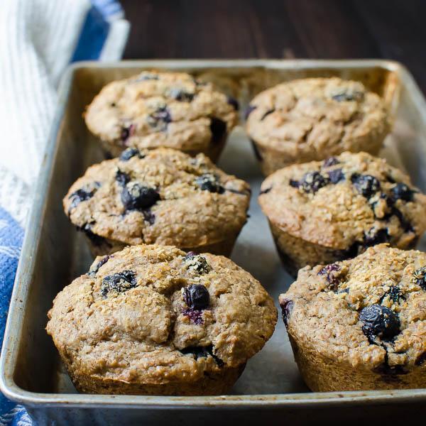blueberry bran muffins-20