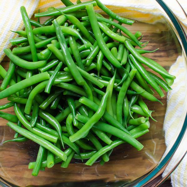 Tangy Green Bean Ciliegine Salad | Garlic & Zest