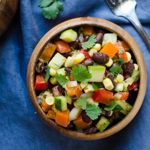 Mexican Chopped Salad | Garlic + Zest