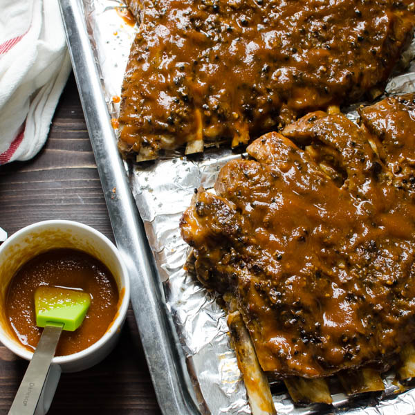 Easy Oven-Style Pork Spareribs | Garlic + Zest