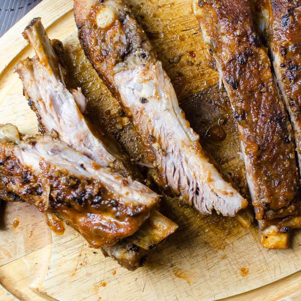 Easy Oven-Style Pork Spareribs   Garlic + Zest