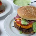 Grilled Portabella Burgers | Garlic + Zest