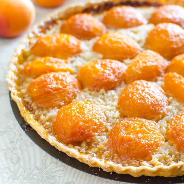 Apricot Almond Tart | Garlic + Zest
