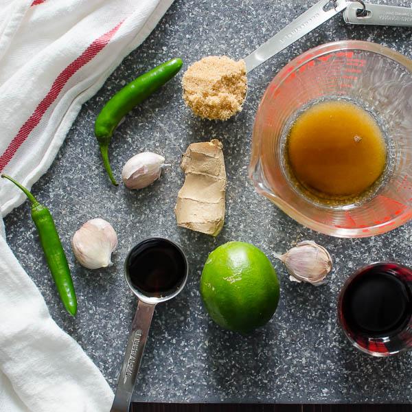 Juicy Asian-Style Chicken Thighs | Garlic + Zest
