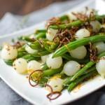 Orange Dijon Haricots Verts | Garlic + Zest