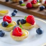 Bite-Sized Lemon Tarts | Garlic + Zest