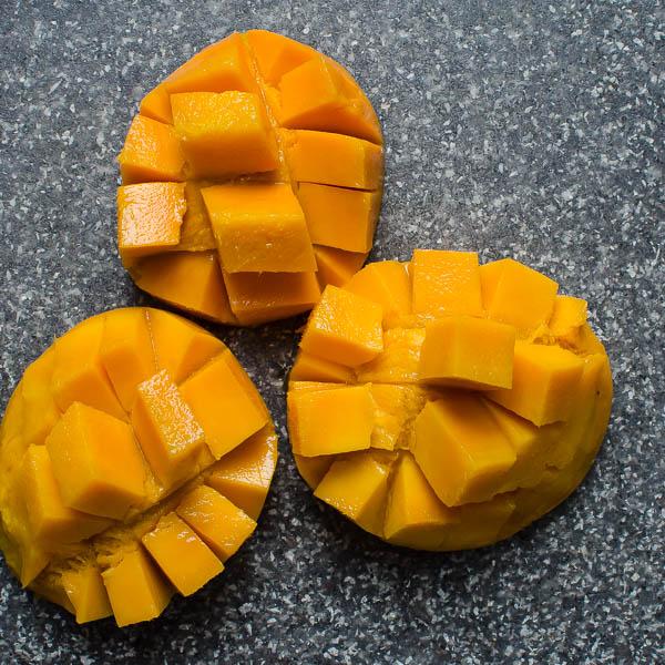 Mango Berry Protein Smoothie   Garlic + Zest