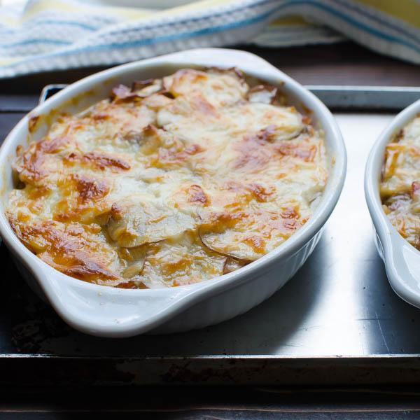 Potato and Ham Au Gratin-11