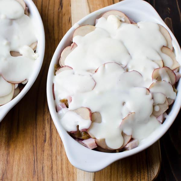 Potato and Ham Au Gratin-9