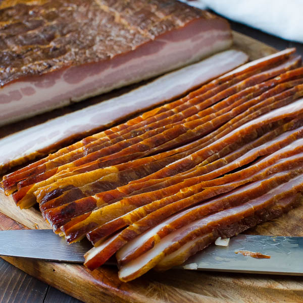 bacon slices