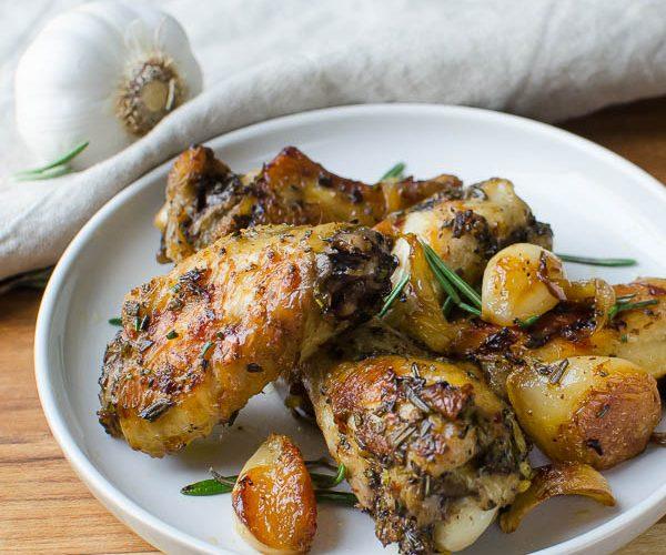 Rosemary Garlic Chicken Wings